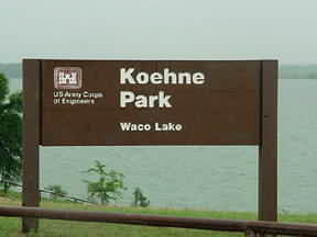 Koehne Park at Lake Waco