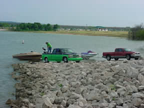 Lake Waco Boat Launch